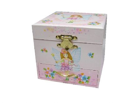 Fairy Childrens Musical Jewellery Box 28025